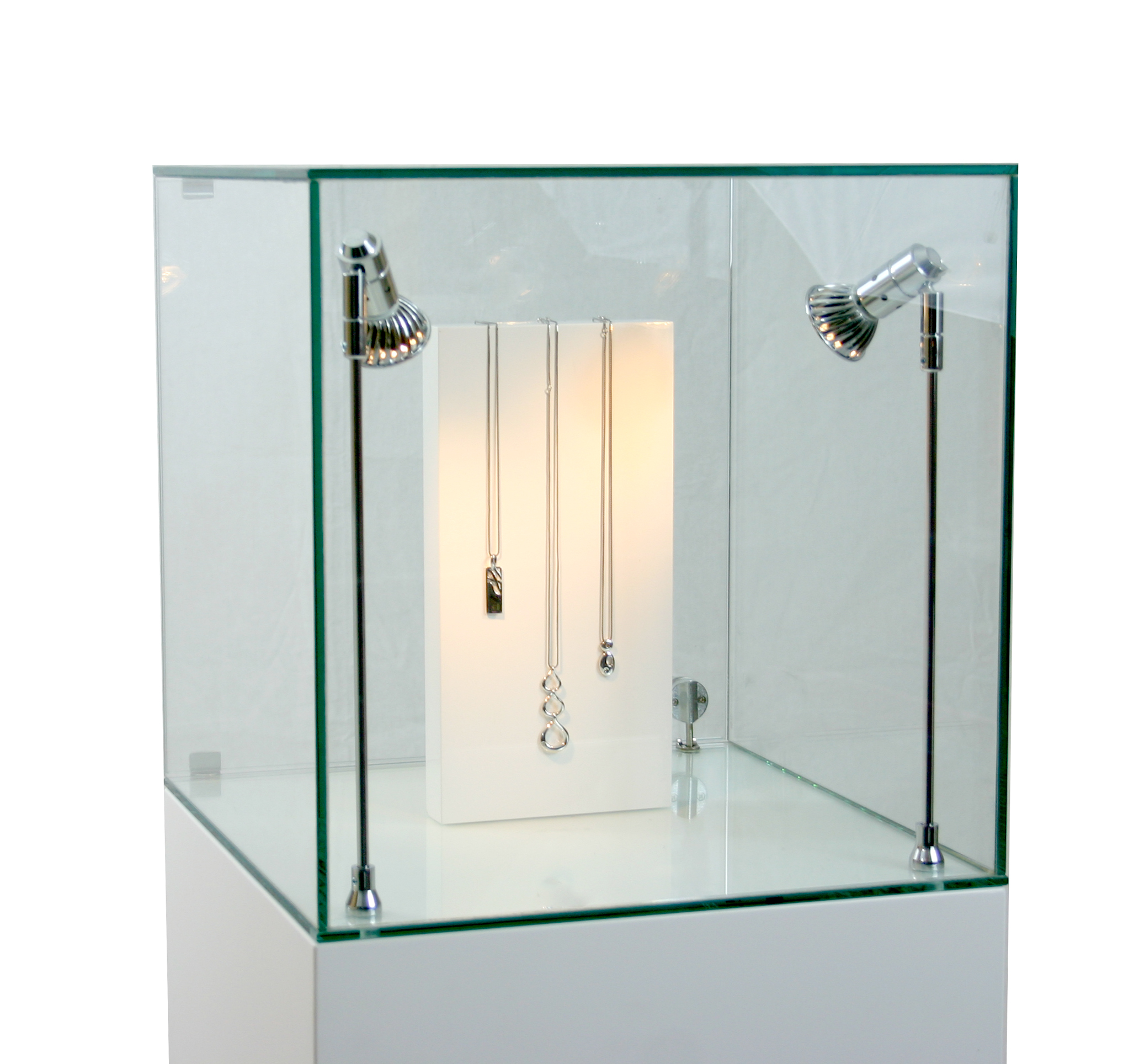 UV Bonding a Glass Cabinet