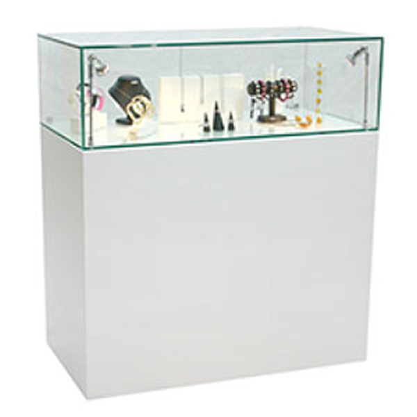 Contour Cut Graphics On Glass Display Cabinets