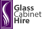 Glass Cabinet Hire UK & Exhibition Display Cabinet Hire